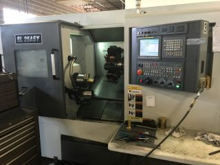 Samsung Sl - 25 Asy Cnc Live Tool Turning Center Lathe Fanuc Sub Y Axis 2013 photo