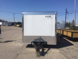 Look Trailer Elite 8.  5 X 32 Tri - Axle 19 K Fully Loaded photo