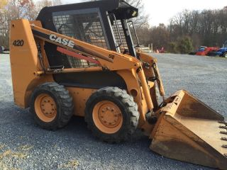 2006 Case 420 Skid Steer Loader Skidloader Cheap Rates photo