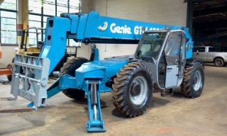 2010 Genie Gth - 1056 Telescopic Forklift 10,  000lbs Lift Cap 56 ' Lift Height photo
