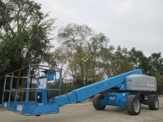 2006 Genie S - 60 Telescopic 4x4 Boom Lift Aerial Lift Stick Boom Lift Deutz Genie photo