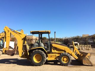 2005 Caterpillar Cat 420d 4wd Backhoe Loader; 5082 Hrs photo