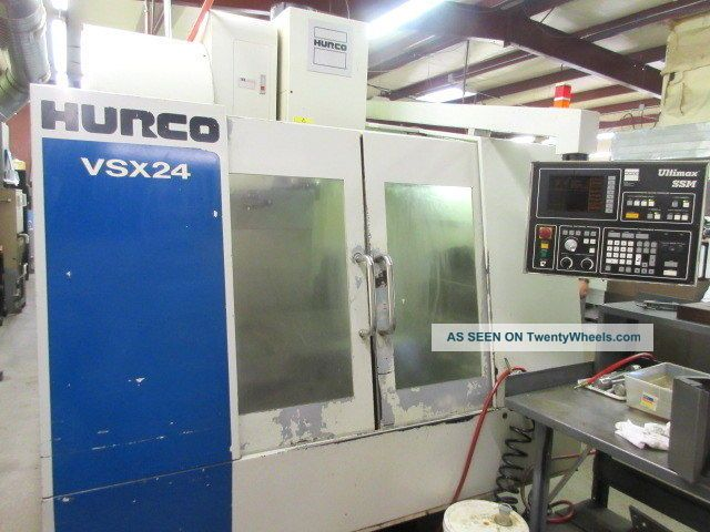 Hurco Vsx - 24 Cnc Machining Center W/ 24 Atc Side Mount Milling Machines photo