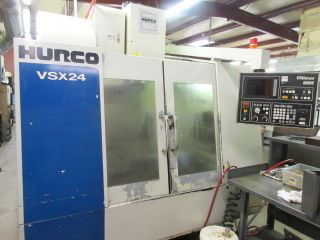 Hurco Vsx - 24 Cnc Machining Center W/ 24 Atc Side Mount photo