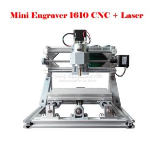 Cnc 1610 + 500mw Laser Grbl Control Diy Mini Cnc Engraving Machine photo