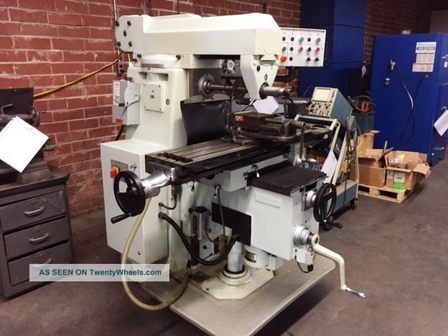 First (sharp) Lc - 20vhs Horizontal Mill Milling Machine,  2001. Milling Machines photo