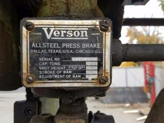Verson Press Brake photo