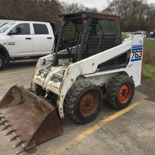Bobcat 763 High Flow Foam Filled Tires 80% 1999 photo