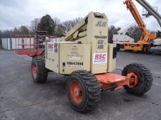 Look 66 ' Jlg Diesel 4x4 Boomlift,  Genie Skyjack photo