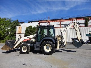2011 Terex Tl840 Loader Backhoe - 4 In 1 Bucket - Extendahoe - 4wd - Enclosed Cab photo