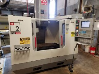 Haas Vf - 2 Vertical Mill Machining Center 30x16 Vmc 4th Ready Rigid Tap 2003 photo