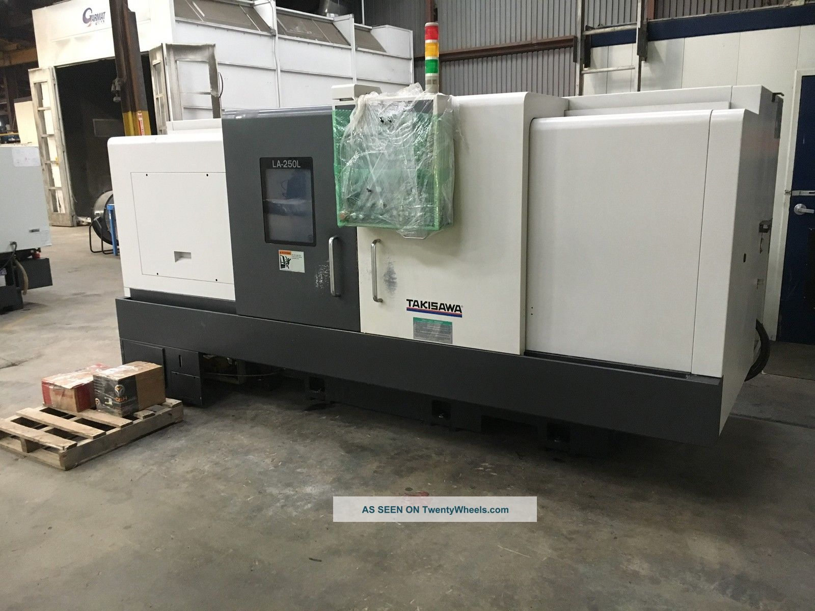 Takisawa Cnc Turning Center Metalworking Lathes photo