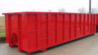 30 Yard Rolloff / Hooklift Waste Container / Dumpster photo