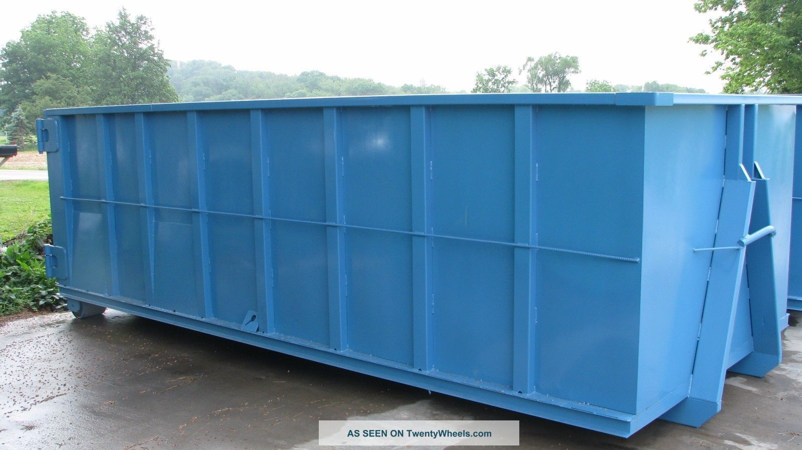 Yard waste dumpsters pictures to pin on pinterest pinsdaddy - Garden waste containers ...