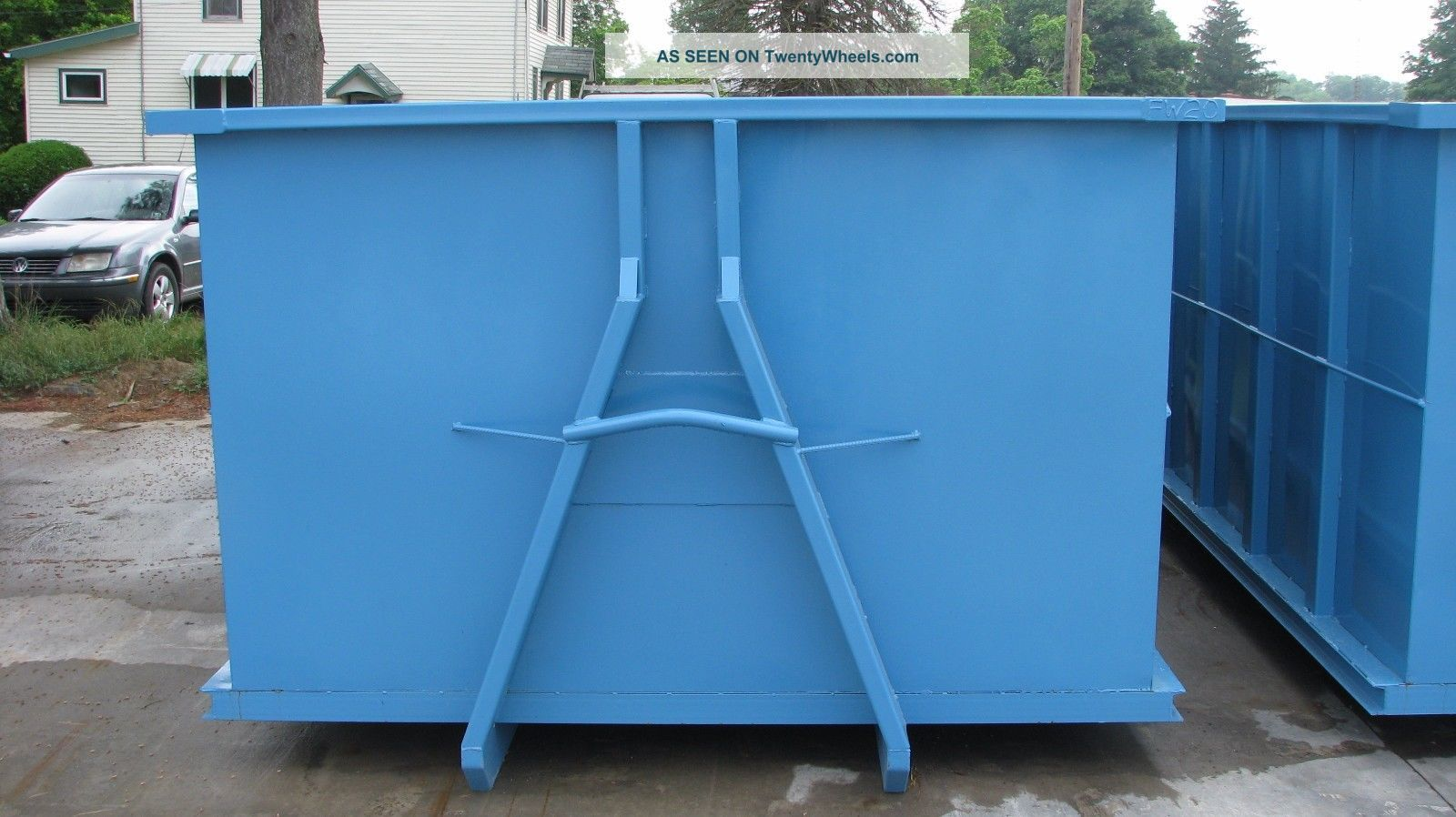 20 yard hooklift waste container dumpster - Garden waste containers ...