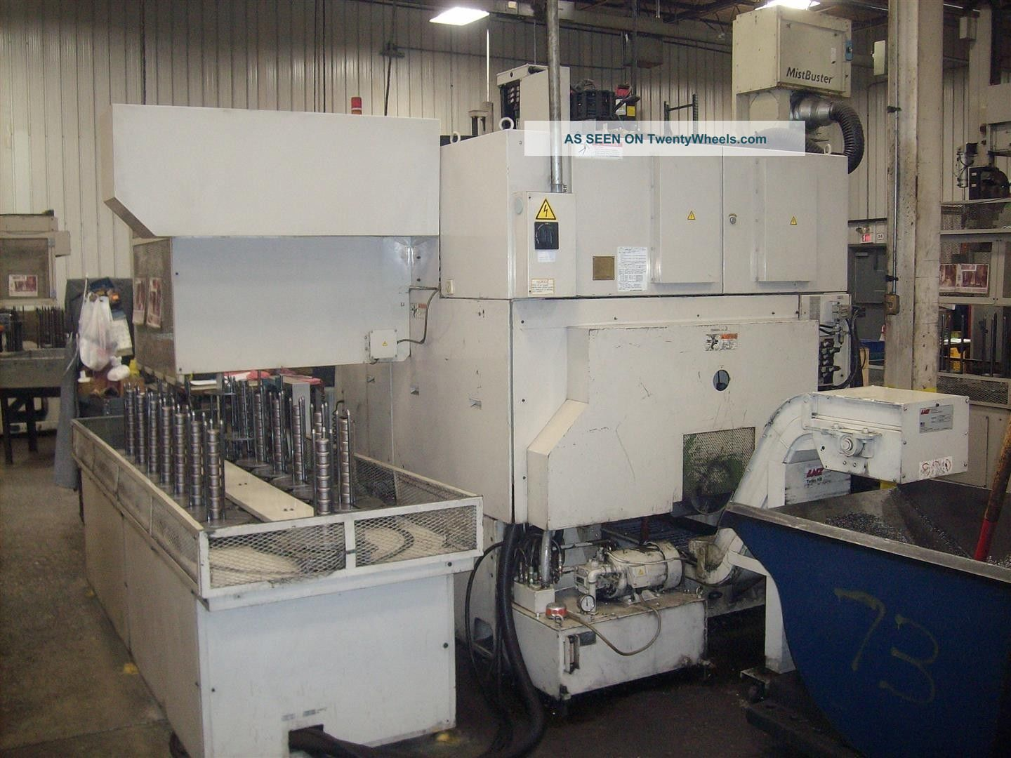Okuma And Howa Spl - 25 Cnc Twin Turret Lathe Auto Gantry Loader Turning Center Metalworking Lathes photo