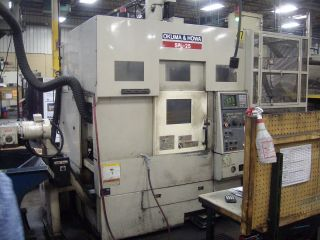 Okuma And Howa Spl - 25 Cnc Twin Turret Lathe Auto Gantry Loader Turning Center 00 photo