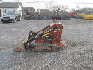 2006 Ditch Witch Sk300 Tracked Stand On Skid Steer Loader photo
