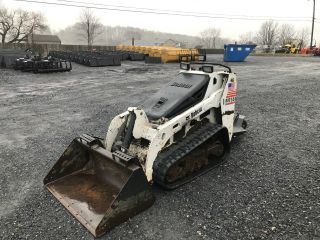 2007 Bobcat Mt55 Stand Skid Steer Loader photo