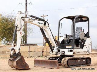 2004 Bobcat 328 Mini Excavator - Excavator - Loader - Crawler - Bobcat - 24 Pics photo