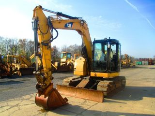 2007 Caterpillar 308d Hydraulic Excavator,  Full Cab,  Street Pads,  4684 Hours photo