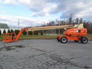 2008 Jlg 860sj 86 ' Boom Lift Manlift Man Lift Aerial Telescopic Boomlift Jib photo