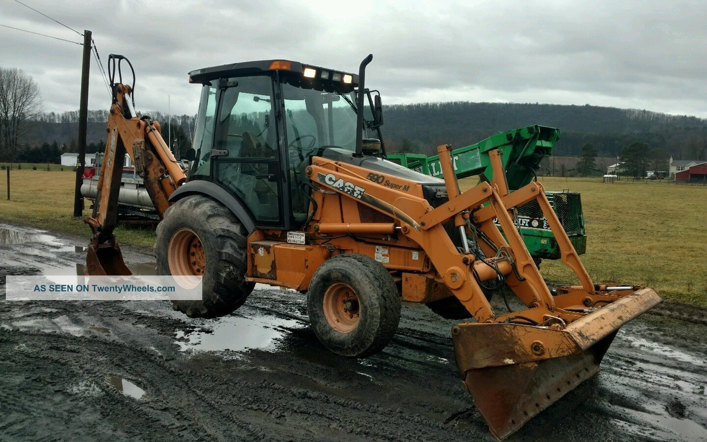 Case Backhoe 590 M Backhoe Loaders photo