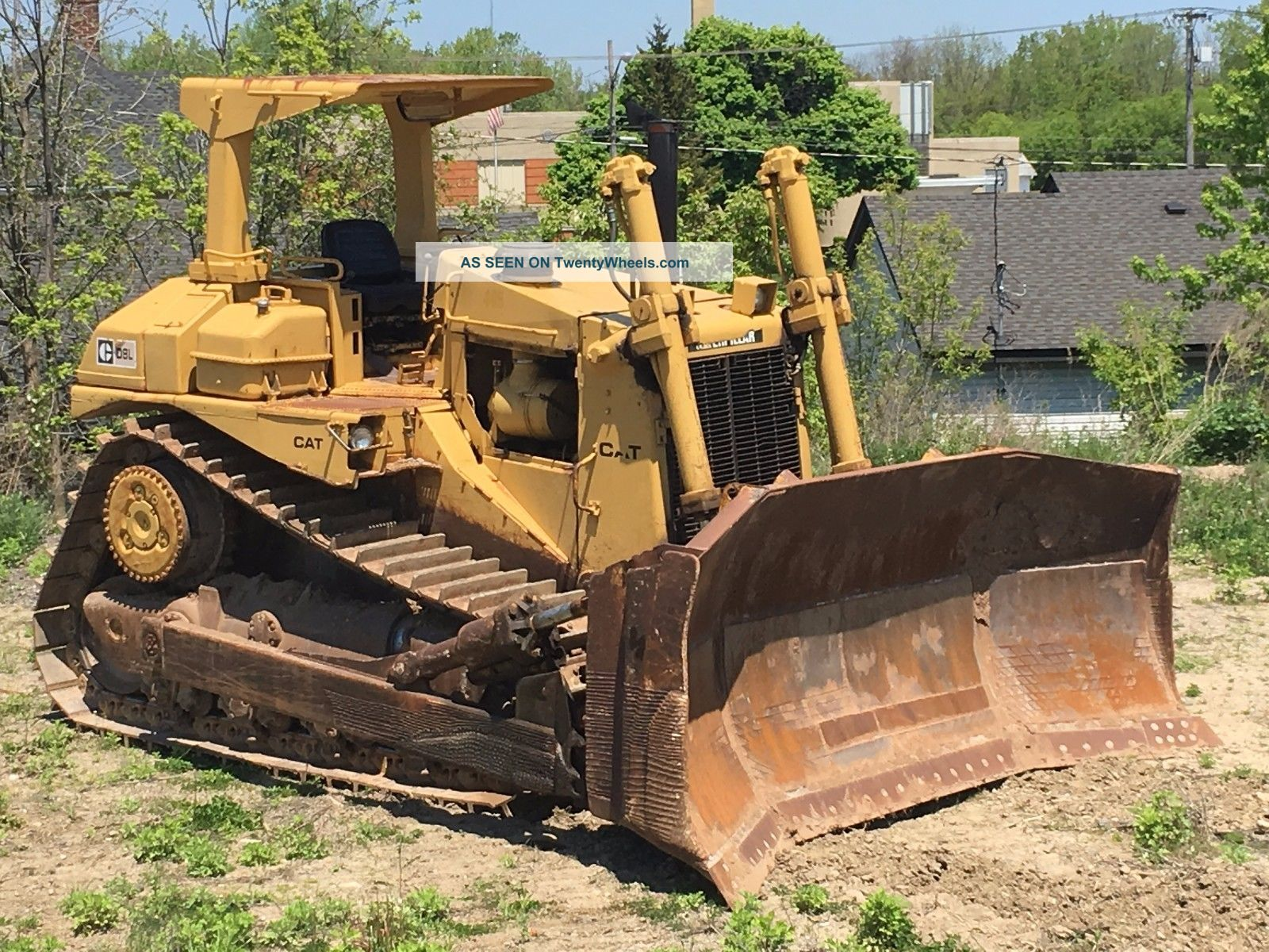 Caterpillar D8 Bulldozer Cat D8l Dozer Crawler Dozers & Loaders photo