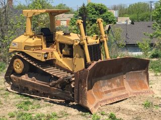 Caterpillar D8 Bulldozer Cat D8l Dozer photo