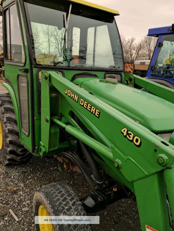 6 Wheel Drive Tractor : John deere wheel drive full cab diesel compact tractor