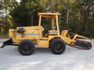 2005 Vermeer V8550a Heavy Duty Trencher / Front Weights,  No Backhoe photo