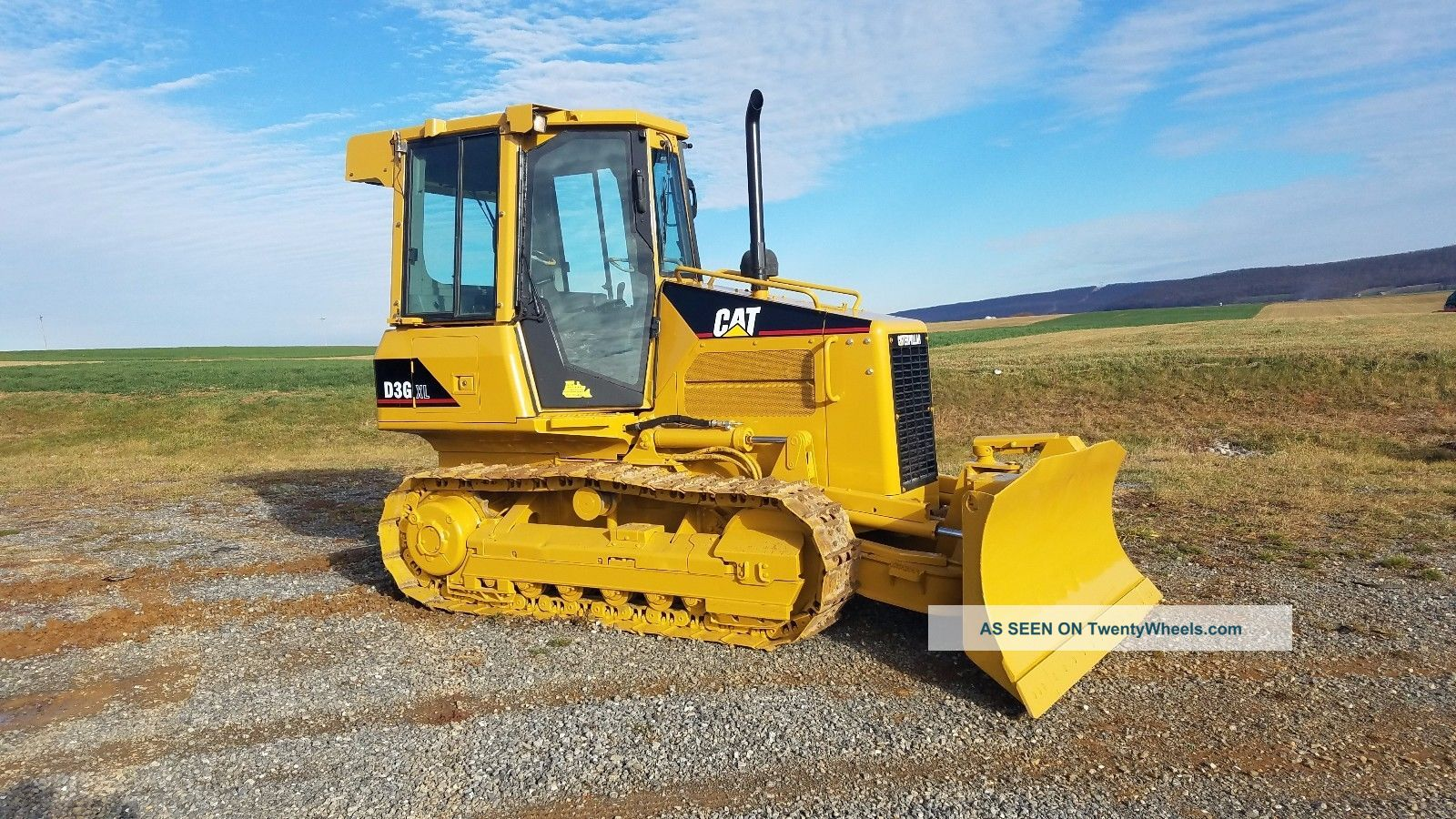 2007 Caterpillar D3g Xl Dozer Crawler Tractor Diesel Engine 6 Way Blade Erops Crawler Dozers & Loaders photo