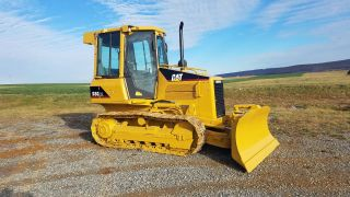 2007 Caterpillar D3g Xl Dozer Crawler Tractor Diesel Engine 6 Way Blade Erops photo