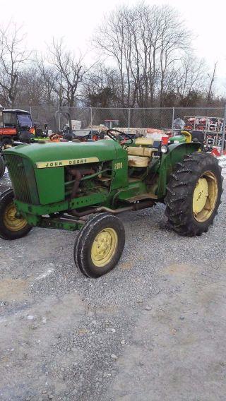 John Deere Tractor photo