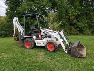 2006 Bobcat B250 Mini Compact Loader Backhoe Excavator Hydraulic Plumbed Tractor photo