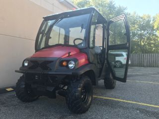 Rtv,  Club Car 4x4 Gas Eng.  Full Hard Inclosure With Heater, , photo