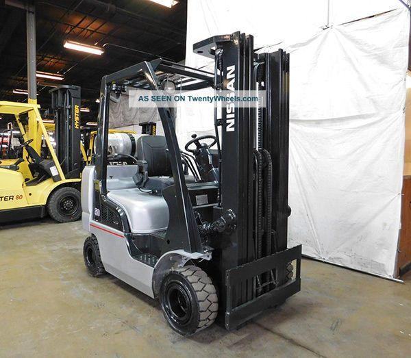Nissan Map F A Lv Lb Pneumatic Forklift Lpg Lift Truck Hi Lo Lgw