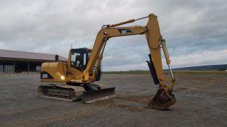 2006 Caterpillar 307c Mini Compact Hydraulic Excavator Track Hoe W/ Thumb Blade photo