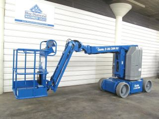 2006 ' Genie Z30/20n Rj Jib,  Manlift,  Electric Boom Lift,  Jlg E300aj,  Aerial photo