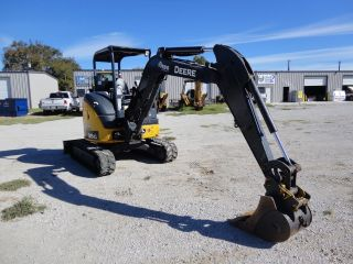 14 ' John Deere 35g Mini - Excavator Under photo