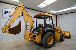 2004 John Deere 310g 4wd Backhoe Loader With Only 1792 Hours photo