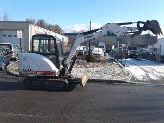 2009 Mini Excavator Bobcat 331 / Enclosed Cab/ Heat & A/c/ photo