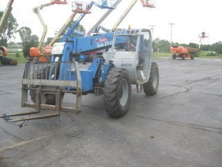2006 Genie Gth - 636 Telehandler Forklift 6000lbs Lift Cap 36 ' Lift Height photo