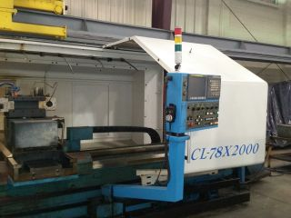 2008 Acra Cl - 78 Cnc Flatbed Turning Center Lathe 59