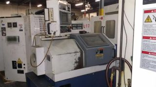 Mori Seiki Bl - 05 Cnc Gang Tool Turning Center Msc - 521 Chip Conveyor 1997 photo