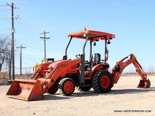 2011 Kubota B26 Backhoe Tlb - Loader Backhoe - Backhoe - Loader - Kubota - 25 Pics photo