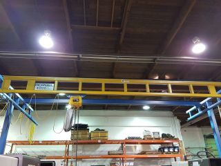 Gorbel Standing Bridge Crane System With 4000 Ib Crane photo