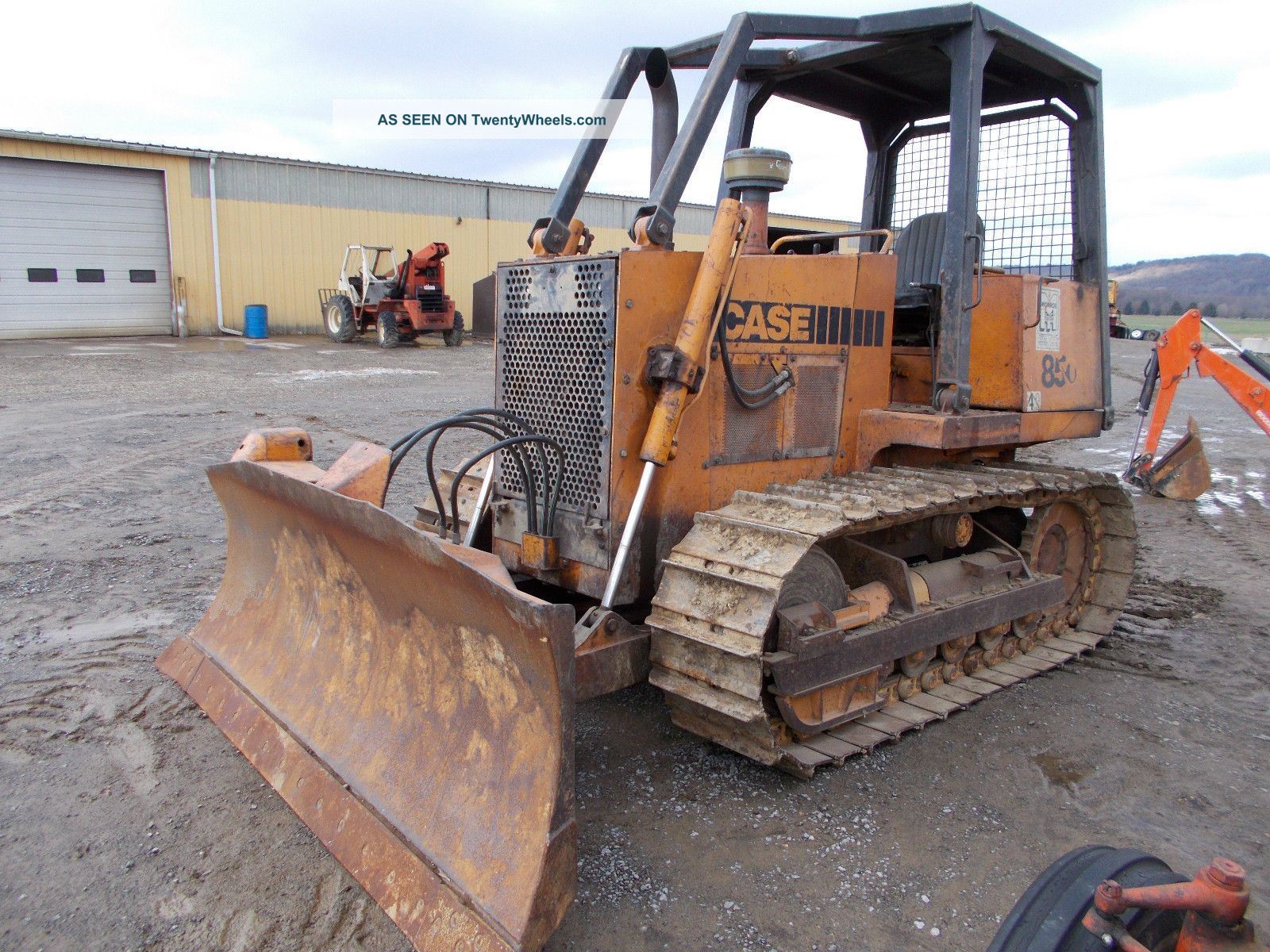 Case 850 - C 6 Way Blade All Tracks And Cutting Edges In Pa Crawler Dozers & Loaders photo