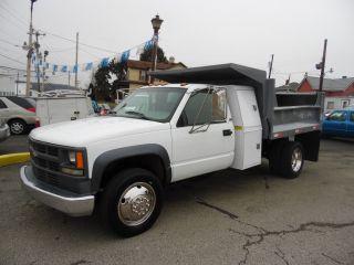 1997 Chevrolet C - 3500hd 9 Foot Dump Body Bed Truck Fleet Owned photo