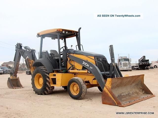 2012 John Deere 310k Backhoe - Loader Backhoe - Backhoe - Loader - Deere - Cat - 25 Pic Backhoe Loaders photo